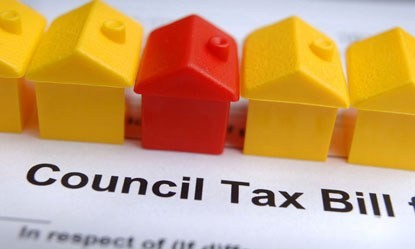 Council tax debt bill monopoly houses